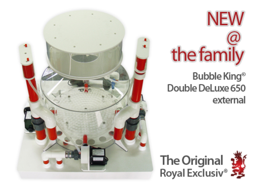 Bubble King DeLuxe 650 modified external