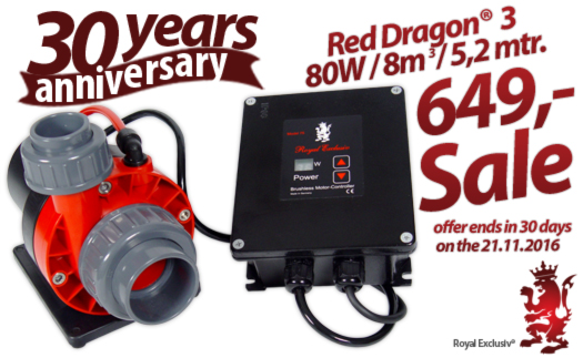 Royal Exclusiv 30 anniversary offer