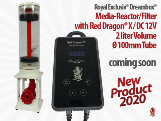 Royal Exclusiv COMPACT media reactor incl. Red Dragon X pump