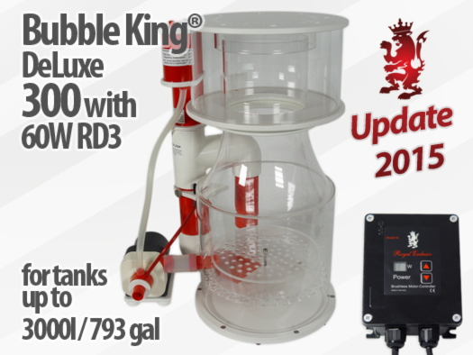 Royal Exclusiv Bubble King Deluxe 300 Version 2015 skimmer