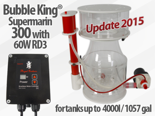 Royal Exclusiv Bubble King Supermarin 300 Version 2015 skimmmer