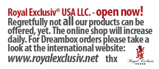 Royal Exclusiv USA. Information. Open now!